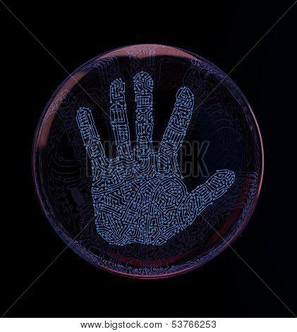 Digital Hand Print
