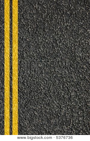 Textura de carretera con líneas