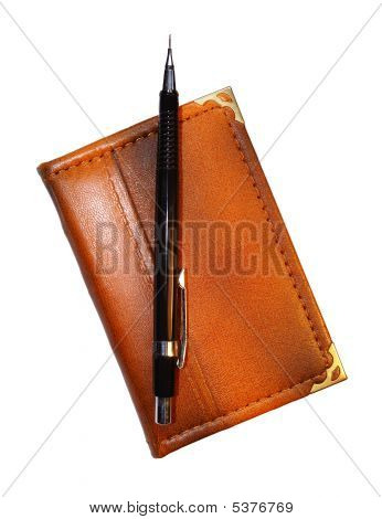 Pencil On Pocket-book