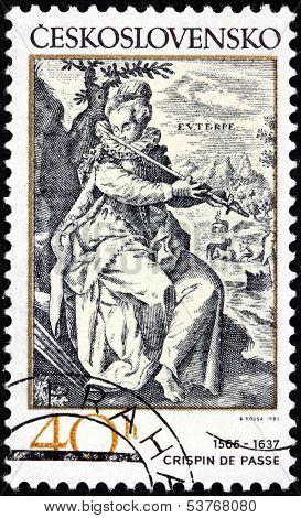 Crispin De Passe Stamp