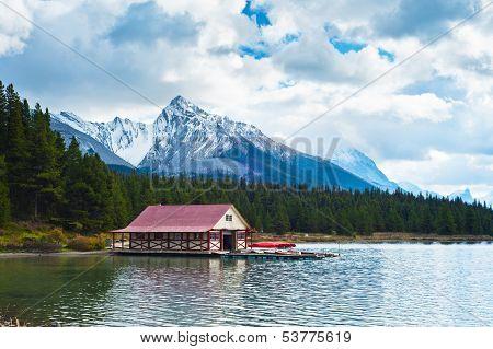 Maligne Lake, Jasper National Park, Jasper,