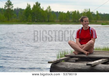 Resting Near The Water
