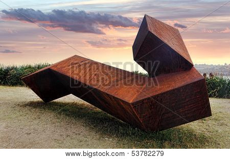 Sculpture By The Sea Exhibit At Bondi, Australia