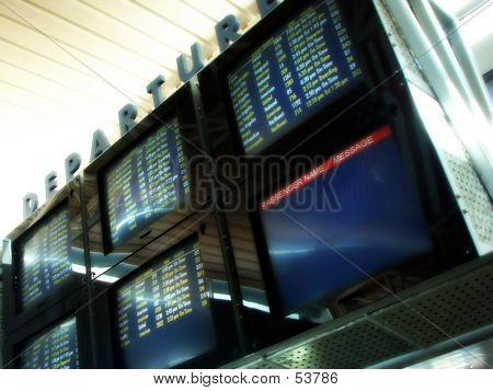 Las Vegas Departure Screens