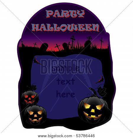 Invitation For Halloween Party