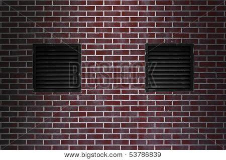 Ventilator On A Wall