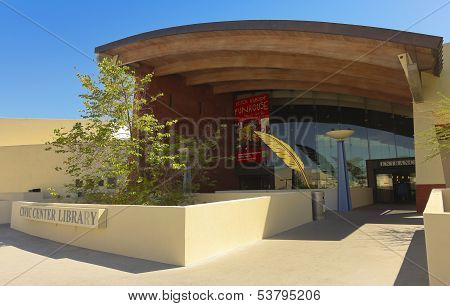 A Shot Of The Scottsdale Civic Center Library