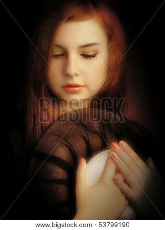 Artistic Girl Portrait