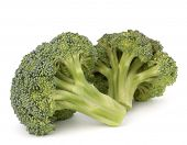 Broccoli vegetable isolated on white background