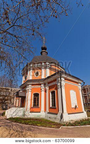 Transfiguration Of Jesus Church (1777). Kraskovo, Russia