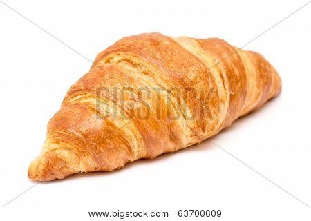 Tasty Croissant Isolated