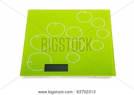 Green Square Kitchen Scale