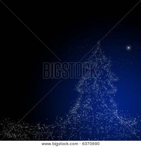 Christmas  Background : Star Of Bethlehem