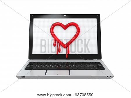 Heartbleed Bug in Laptop