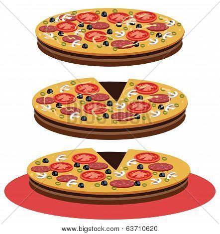 Pizza - Illustration