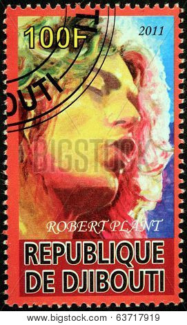 Robert Plant Stamp