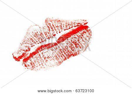 Red Lipstick Kiss