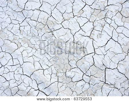 Mud cracks dryness texture background