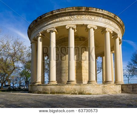 The Maitland Rotunda in Kerkyra, Greece