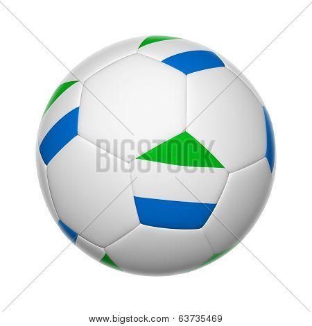 Sierra Leone Soccer Ball