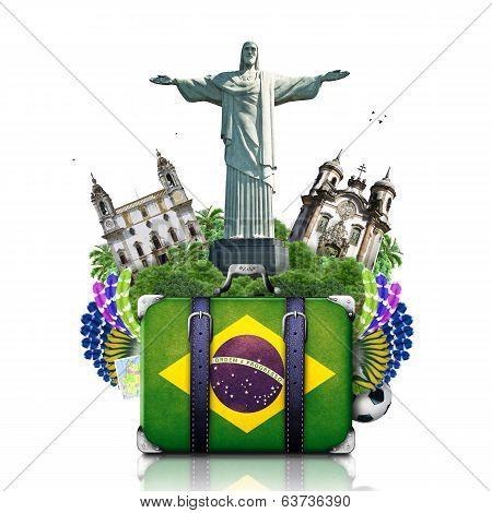 Brazil, Brazil landmarks, travel