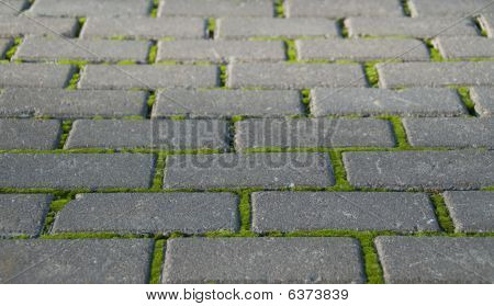 Photo Of Abstract Road Brick Background