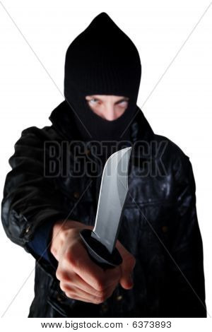 Man With Knife