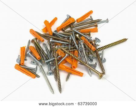 Screws and dowels