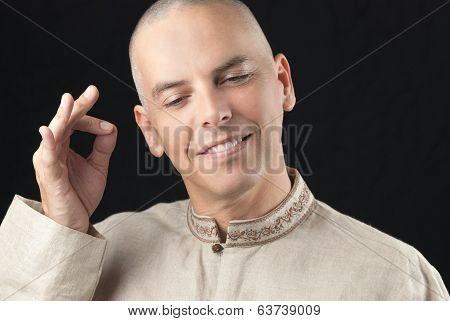 Buddhist Gestures Vitarka