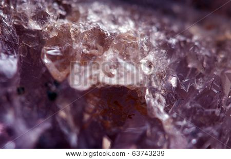 Amethyst, A Beautiful Abstract Background. Macro