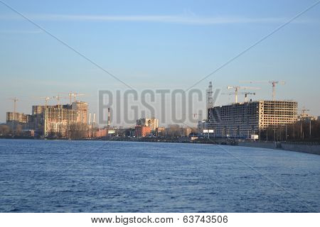 View Of Neva River, St.petersburg
