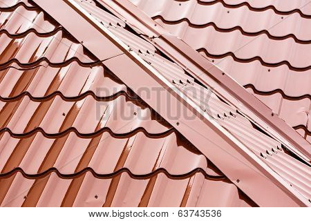 Home Red Roof Detail