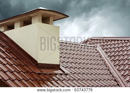 Red Home Roof