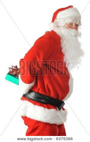 Santa Sneaking
