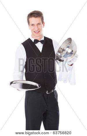 Waiter Opening Lid Cover