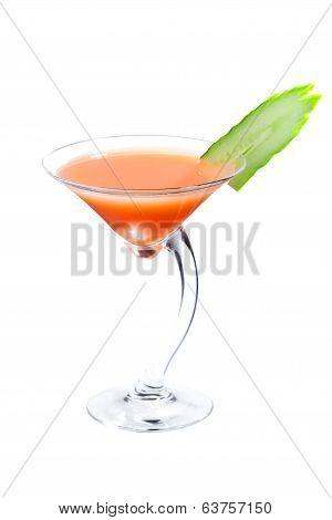 Lemongrass-cucumber cocktail