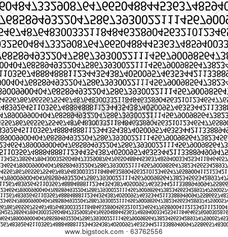Binary Code Stream Background