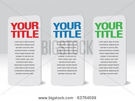 Placard Design Business Presentation Template