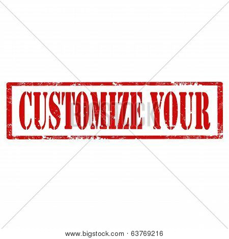 Customize Your-stamp
