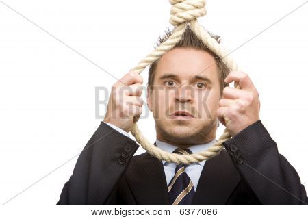 Economic Crisis Force Business Man To Suicide