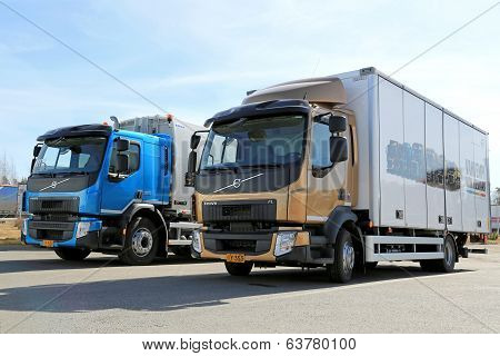 New Volvo FE And FL Trucks