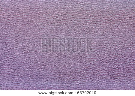 skin and imitation leather of lilac color