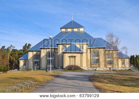 Finland. Lutheran Church In Mikkeli