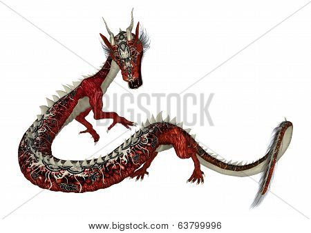 Red Estern Dragon