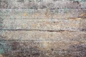 Old Messy Grunge Wooden Weathered Background poster