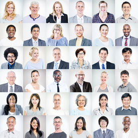 picture of diversity  - Group of Multiethnic Diverse Business People - JPG