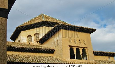 Alhambra roofscape