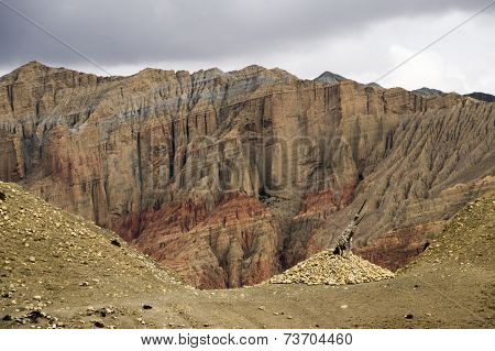 Incredible Mineral Landscape Of Upper Mustang