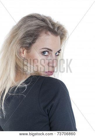 Woman Look Back