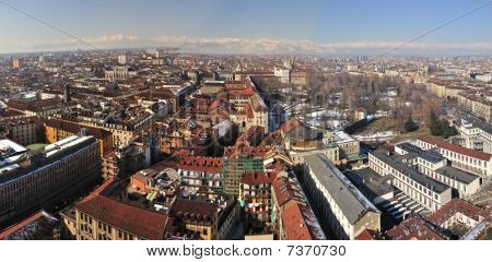 View Over Turin, Italy